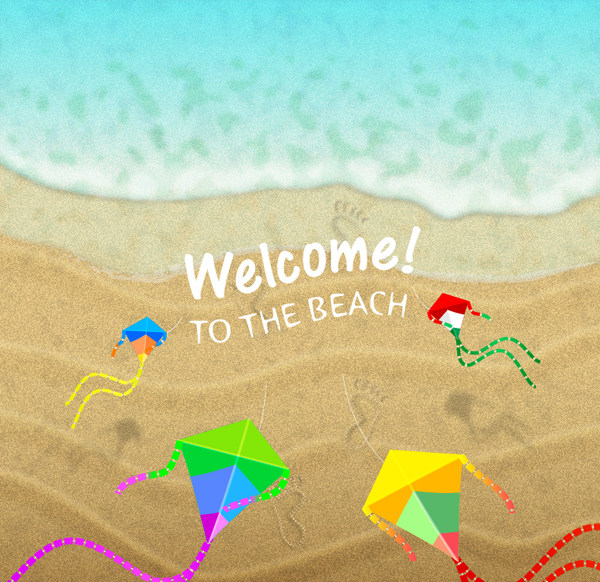 Create a Summer Beach Background in Adobe Illustrator