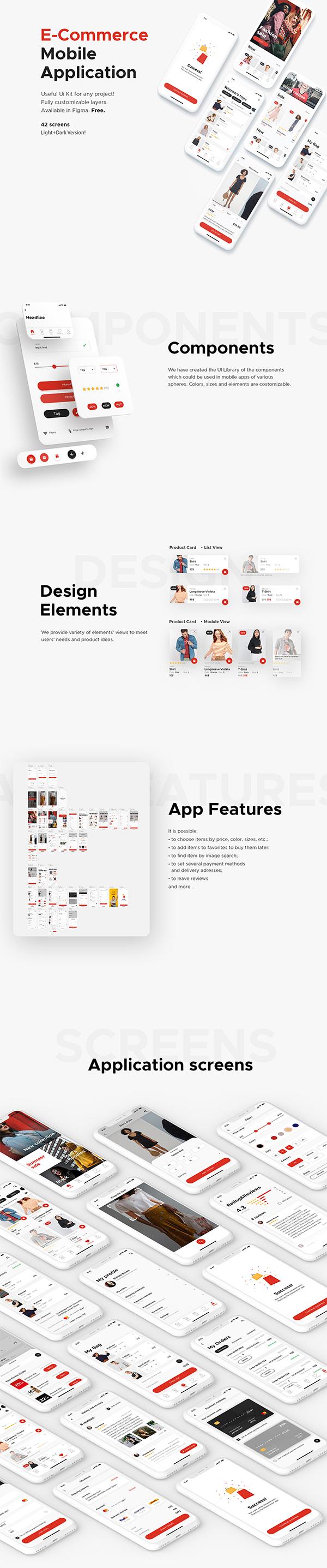 Free | E-Commerce Mobile Application