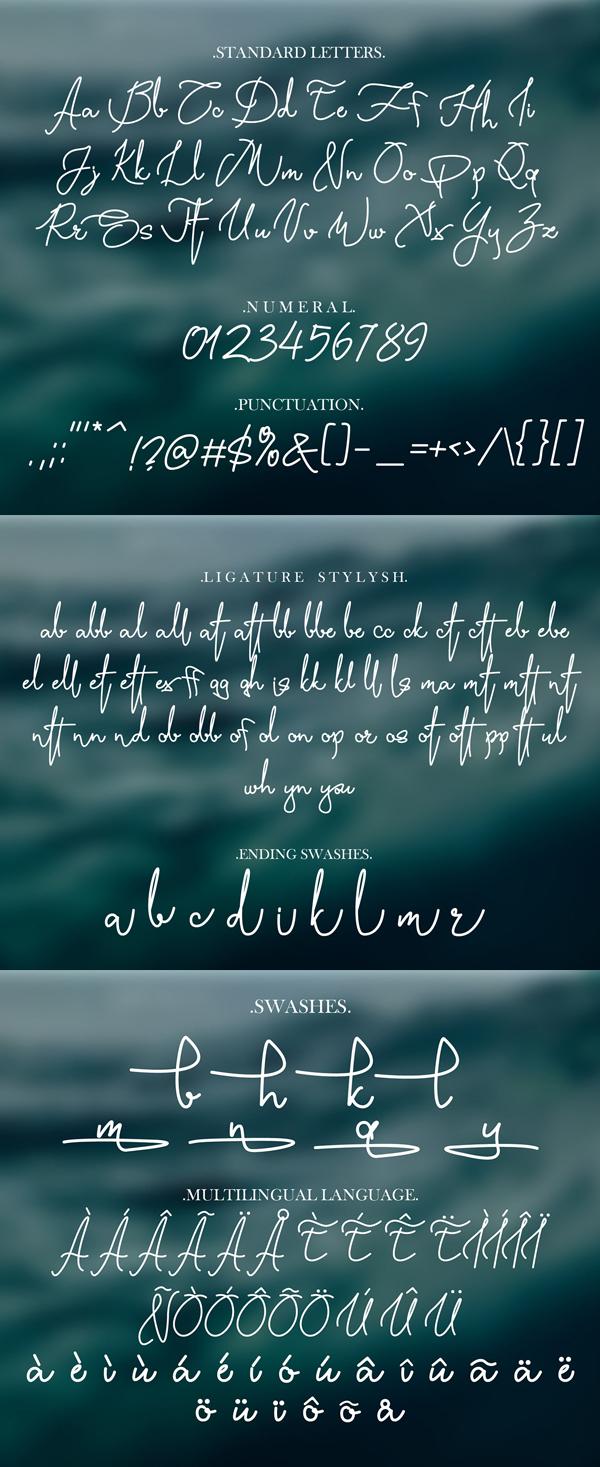 Yasmin Script Free Font