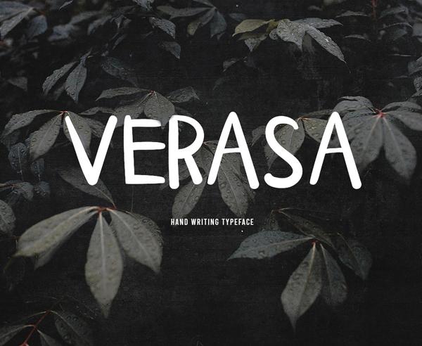 Verasa Free Font