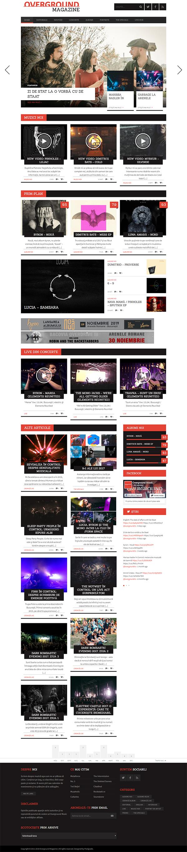 BUCKET - Magazine WordPress Theme