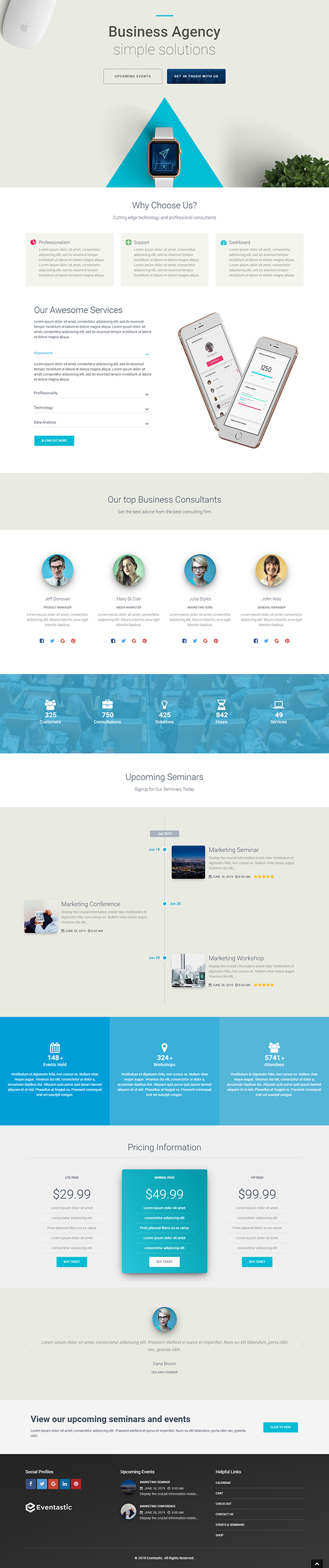 WP Theme for Events & Conferences