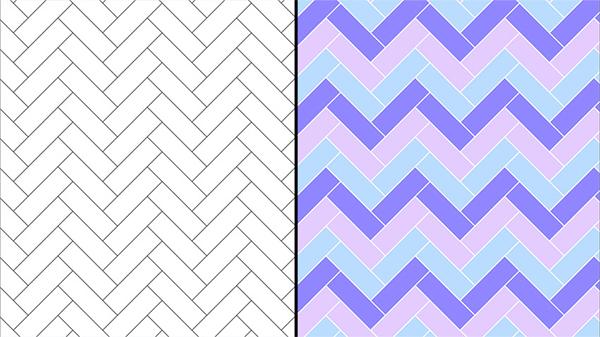 How to Make a Herringbone Pattern in Illustrator