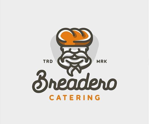 Breadero Catering Logo Design