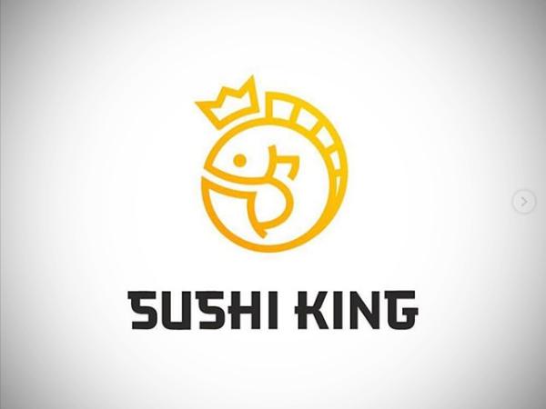 Sushi King Logo Design