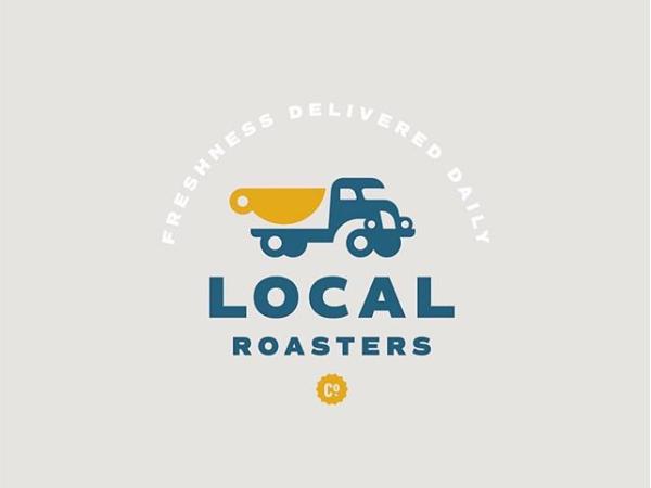 Local Roasters Logo Design