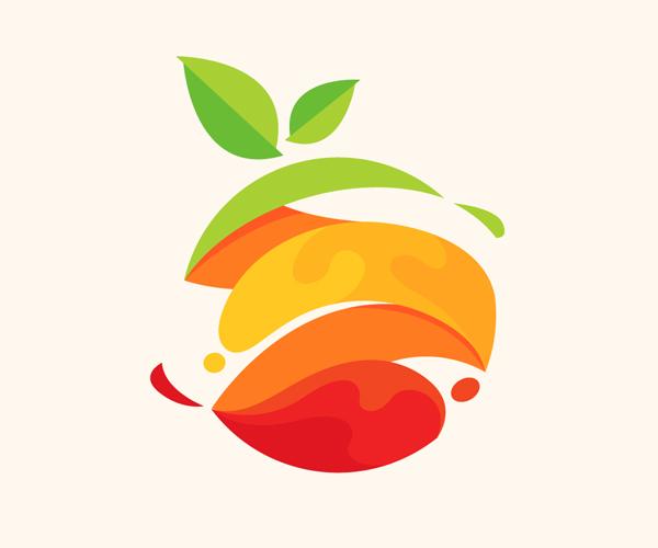 Fresh Fruit Logo Design