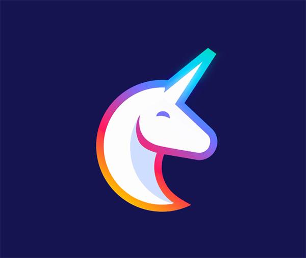Unicorn Logo Animation