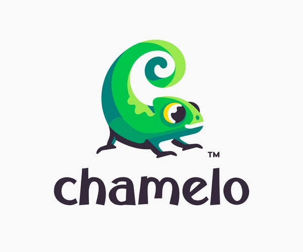 Chamelo Logo Design