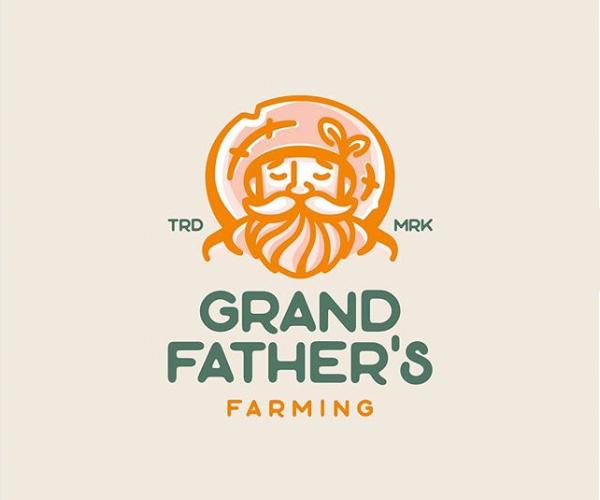 Grand Farming Logo Design
