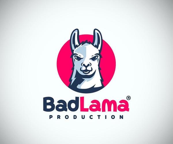 Bad Lama Production Logo Design