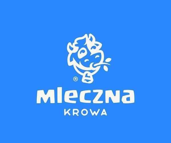 Milky Cow Logo Design