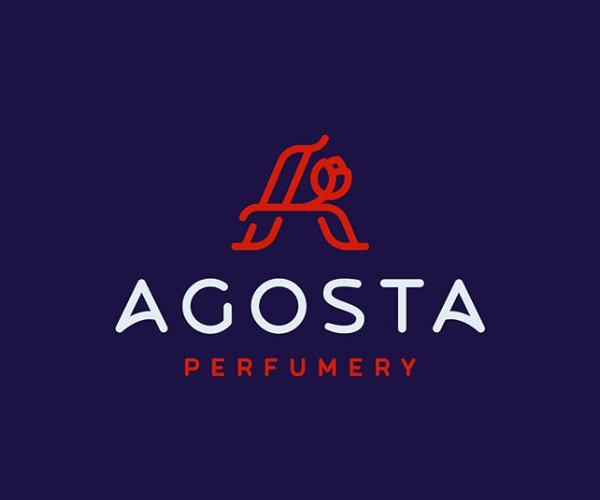 Agosta Perfumery Logo Design