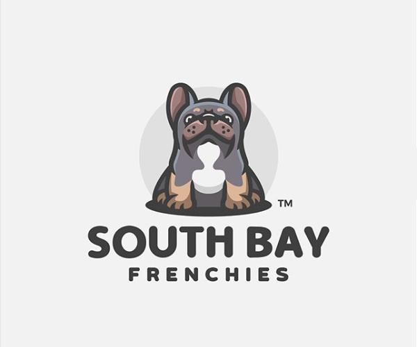 South Bay Frenchies Logo Design