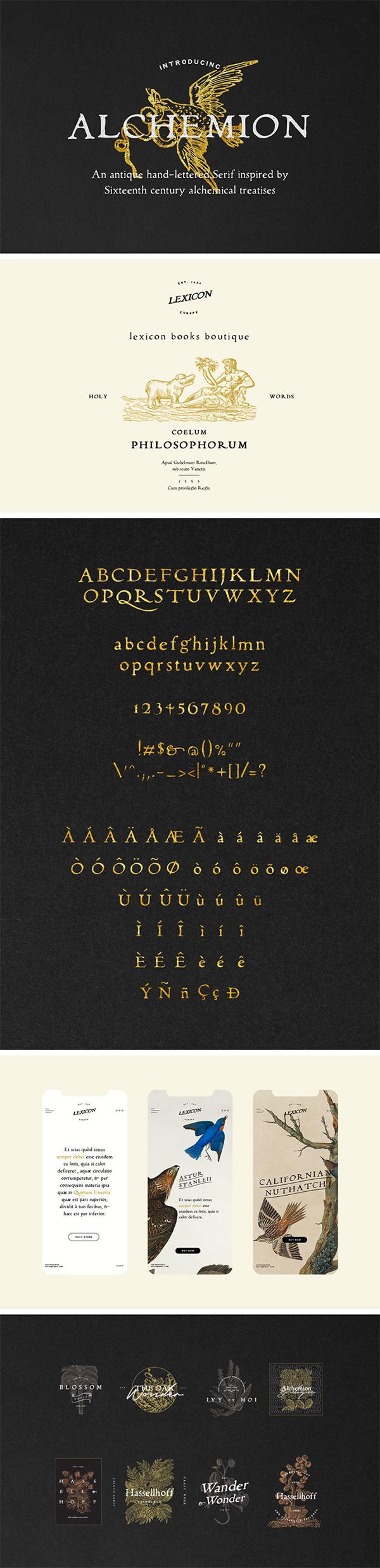 Alchemion Display Serif Font