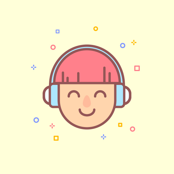 Draw a Simple Music Character Logo in Adobe Illustrator