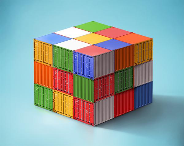 Rubik's Container