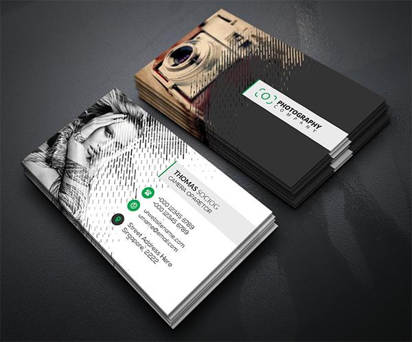 Rain Photography Business Cards