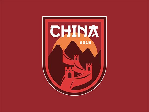 China Badge Logo Design