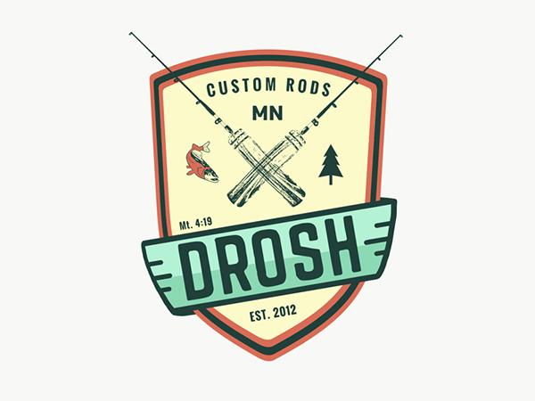 Custom Fishing Logo Design