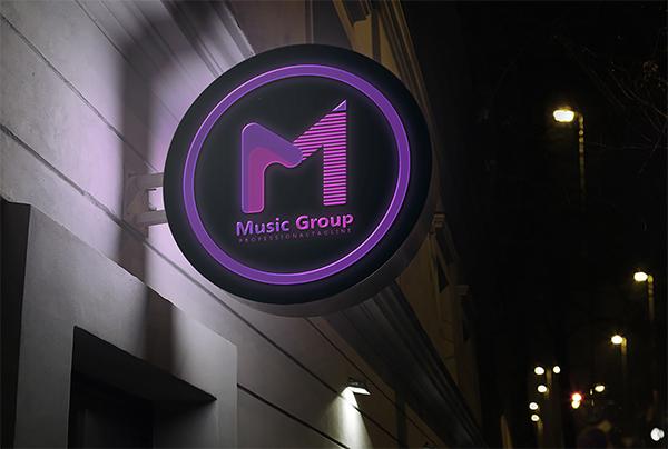 M Letter Logo Design