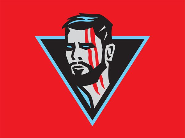 Thor Marvel Badge Logo Design