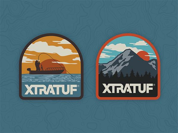 Xtratuf Badges Logo Design