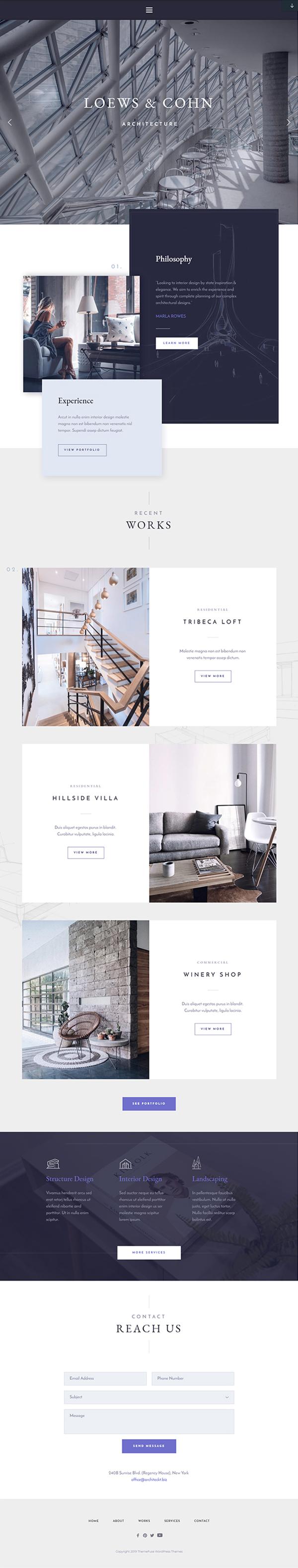Architekt - WP Business Theme