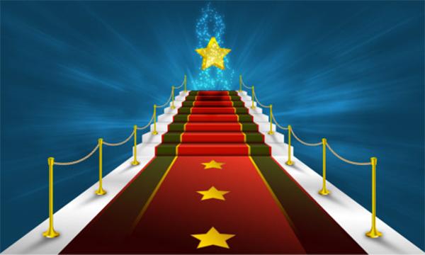 Red Carpet & Glittering Star