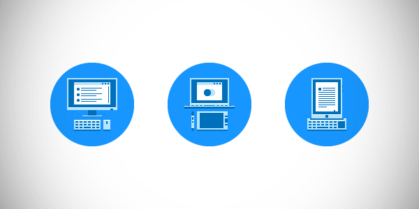 Illustration: Create a Workstation Themed Icon Pack