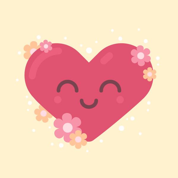 Valentine's Day in Adobe Illustrator