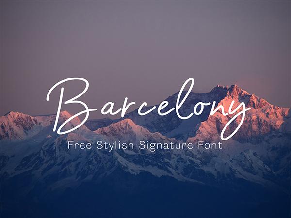 Casual Monoline Free Font