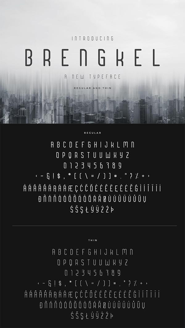 Brenkel Fresh Free Font