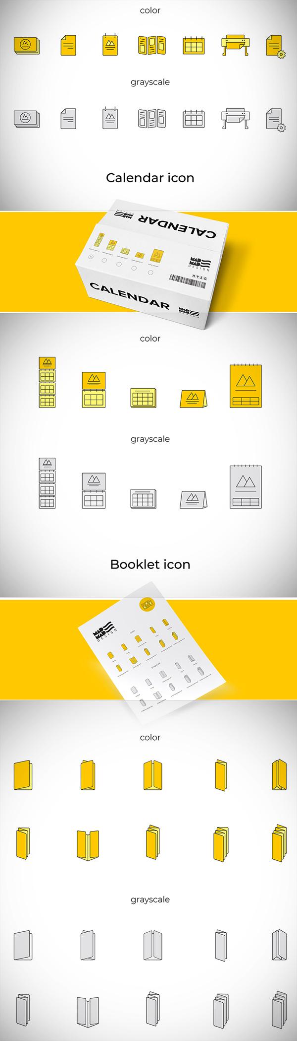 Printing House - Free Icon Set