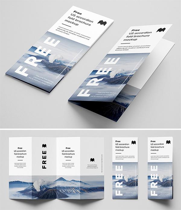 Free Download Elegant High Quality Brochure PSD mockup