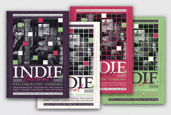 Indie Fest Flyer Template