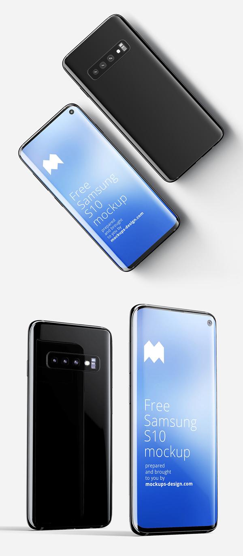 Free Samsung Galaxy S10 Mockup