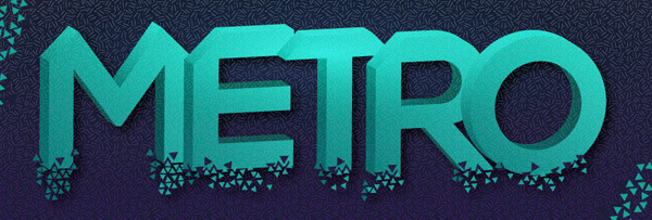 Create a Shattered 3D Geometric Text Effect in Adobe Illustrator
