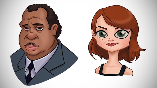 Illustration: Cartoonize a Real-Life Character