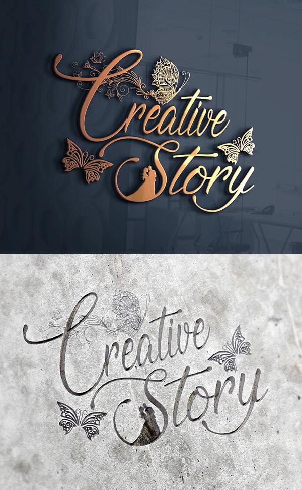 Creative Story Logo Design