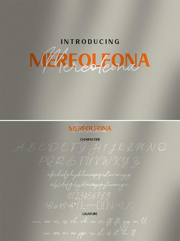 Mereoleona | Font