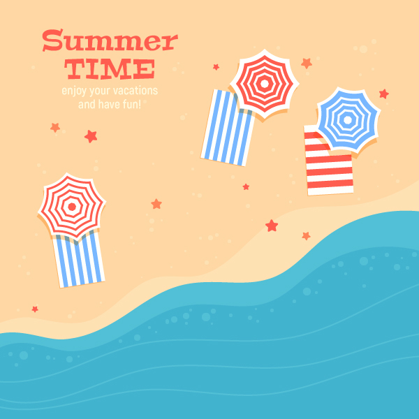 How to Design a Colourful Summer Card in Adobe Illustrator