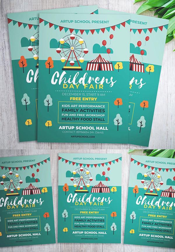 Children Day Fair Flyer