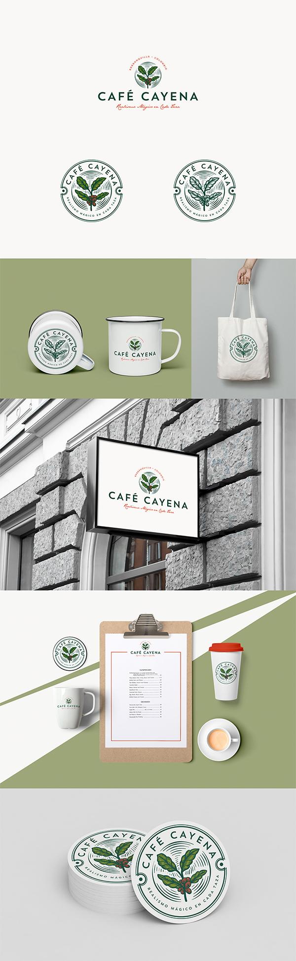 Cafe Cayena Logo Design