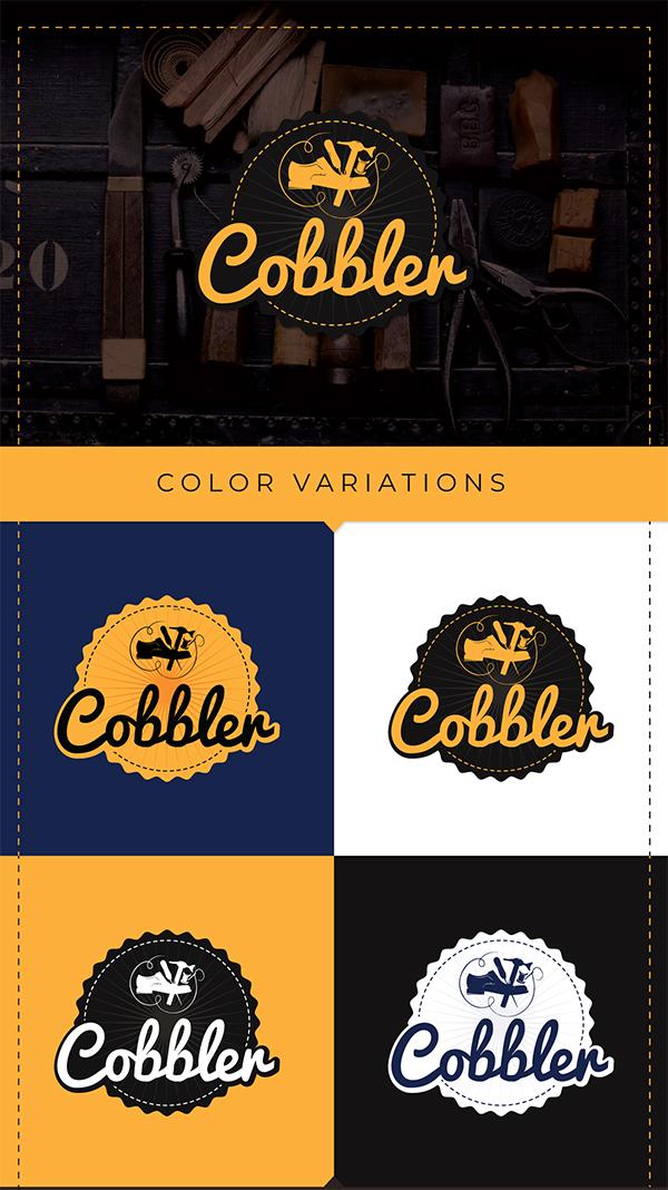 Cobbler Logo Design