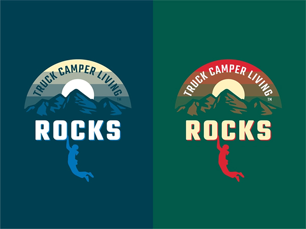 TCL Rocks Logo Design