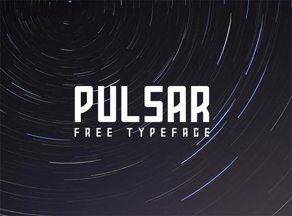 Pulsar Free Font