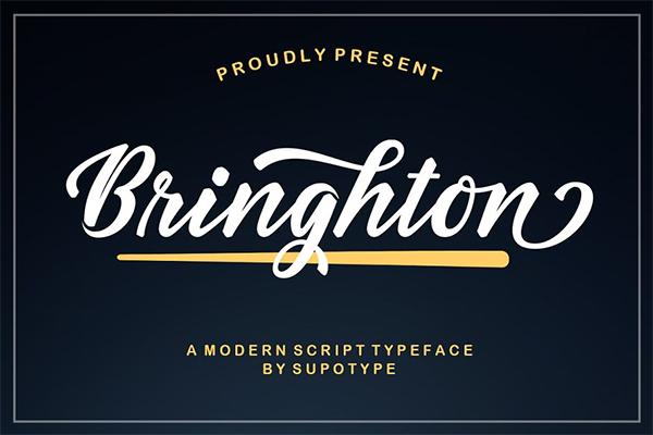 Bringhton Typeface