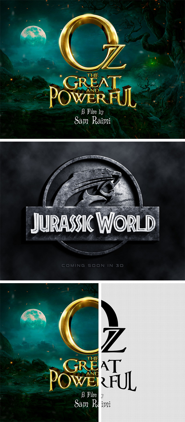 Adventure Film Text Effects