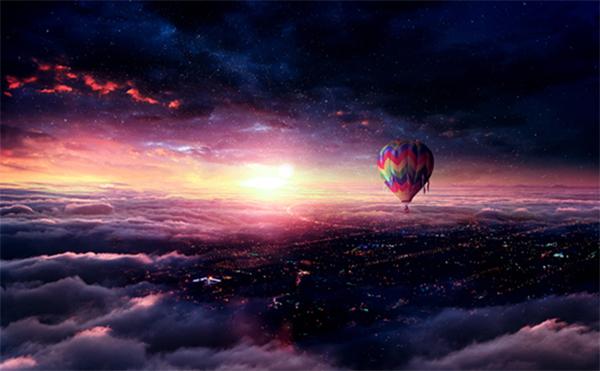 Create Hot Air Balloon Adventure Photo Manipulation in Photoshop